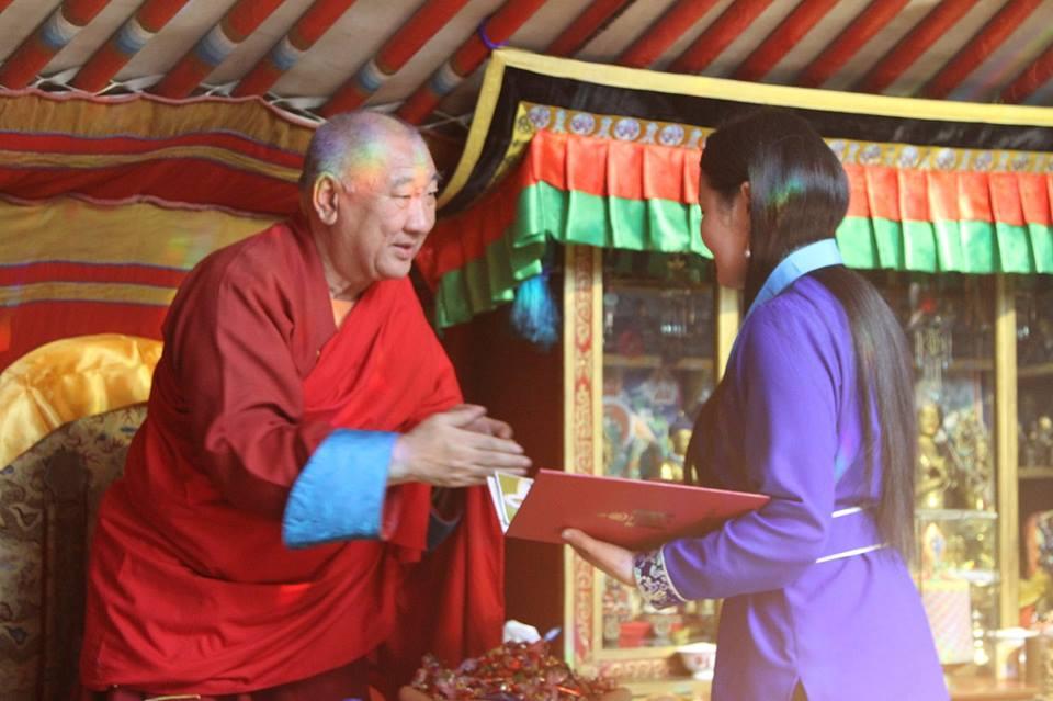 Монгол туургатны Миний монгол бичиг олон улсын уралдааны шагнал гардуулах ёслол